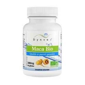 Maca Bio Extracto 500 mg Dynveo 60 cápsulas