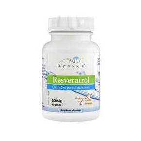 Resveratrol 300 mg Dynveo 60 cápsulas