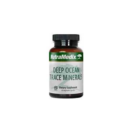 Deep Ocean Trace Minerals Nutramedix 60 cápsulas