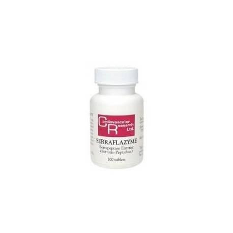 Serraflazyme Cardiovascular Research - Serrapeptasa 100 comprimidos