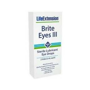 Brite Eyes III gotas Life Extension - 2 viales
