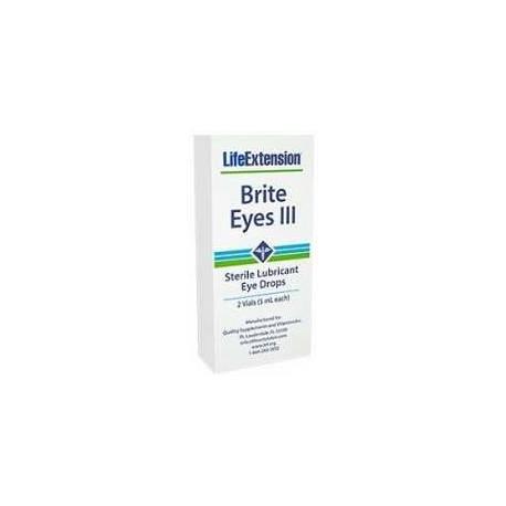 Brite Eyes III gotas Life Extension - 2 viales
