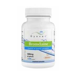 Bromelina 500 mg Dynveo 60 DRcaps - 5000 GDU