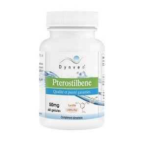 Pterostilbeno 50 mg Dynveo 60 cápsulas