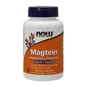 Treonato de Magnesio Now 90 cápsulas