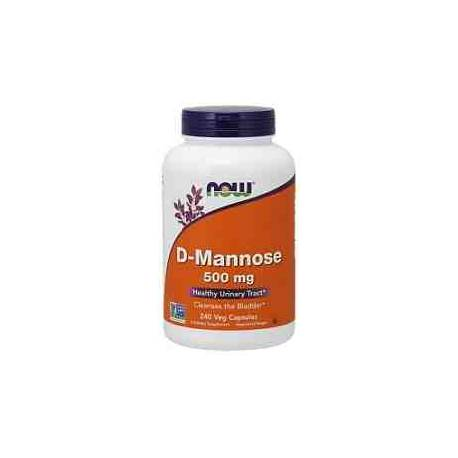 D-Manosa 500 mg Now