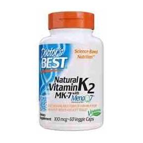 Vitamina K2 MK-7 Doctor Best 100 mcg 60 cápsulas