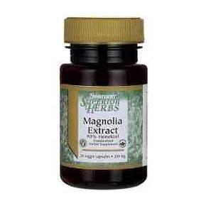 Extracto de Magnolia Swanson 200 mg 30 cápsulas - Honokiol