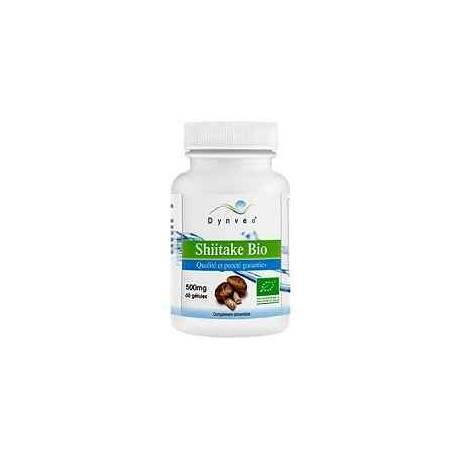 Shiitake Bio Concentrado Dynveo 500 mg 20% beta glucanos