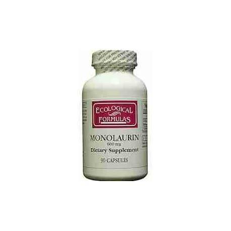 Monolaurina 600 mg Ecological Formulas 90 cápsulas