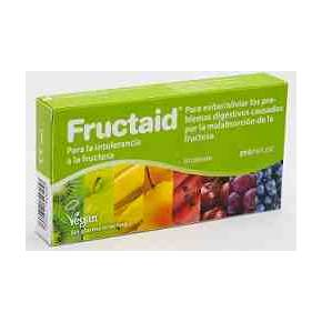 Fructaid 120 cápsulas - Intolerancia a la frutosa
