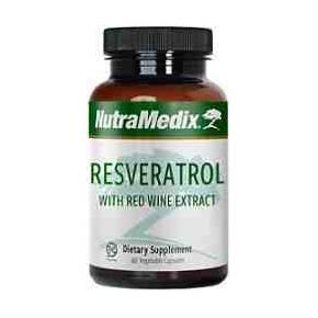 Resveratrol y Extracto de Uva - Nutramedix 60 cápsulas