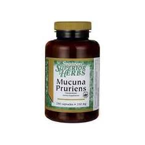 Mucuna Pruriens Extracto 350 mg Swanson 200 cápsulas