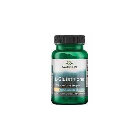 L-Glutathione Swanson 100 mg 100 cápsulas