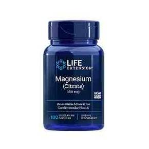 Magnesium Citrate 160 mg Life Extension 100 cápsulas