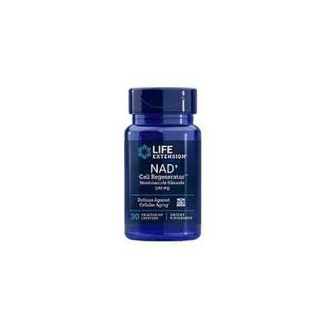 NAD+ Life Extension 300 mg - Nicotinamida Ribósido 30 cápsulas