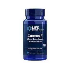 Gamma E Life Extension - Tocoferoles y Tocotrienoles 60 cápsulas