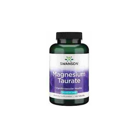 Taurato de Magnesio Swanson 100 mg 120 tabletas