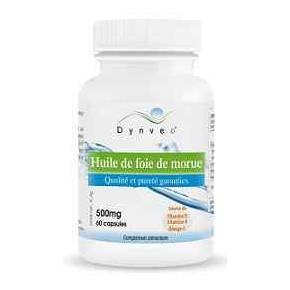 Aceite de Hígado de Bacalao Dynveo 500 mg