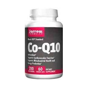 Coenzima Q10 200 mg Jarrow 60 cápsulas