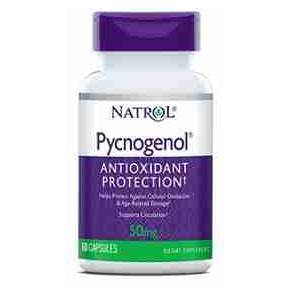 Picnogenol 50 mg Natrol 60 cápsulas