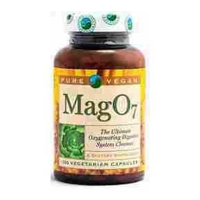 MagO7 Pure Vegan 120 cápsulas