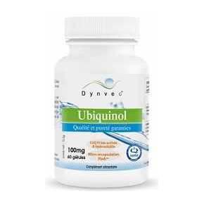 Ubiquinol Kaneka 100 mg Dynveo Hidrosoluble 60 cápsulas