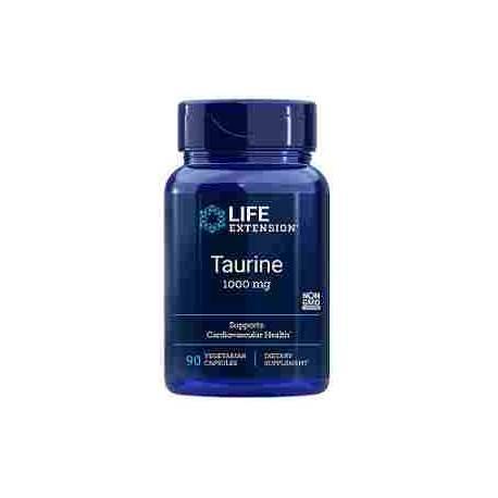 Taurina 1000 mg Life Extension 90 cápsulas