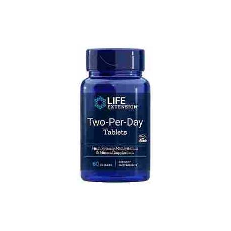 Two Per Day tablets Life Extension 60 tabletas