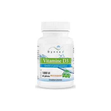 Vitamina D3 Vegana 1000 UI Dynveo 60 cápsulas