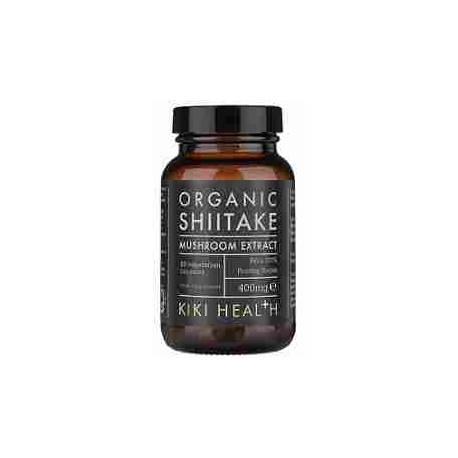 Shiitake Orgánico Kiki Health 400 mg 60 cápsulas