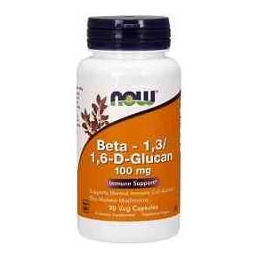 Beta-1-3/1-6-D-Glucano NOW 100 mg 90 cápsulas