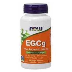 EGCG Now 400 mg 90 cápsulas - Extracto de Té Verde