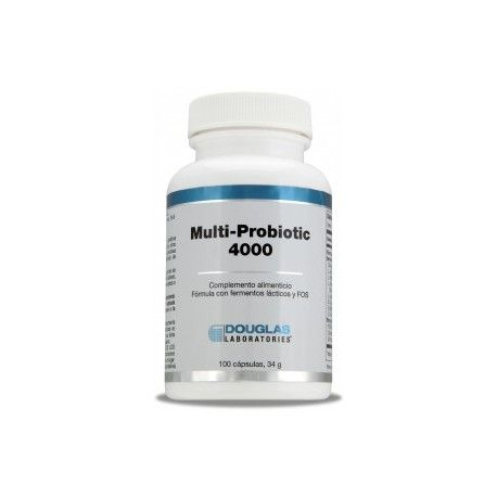 Multi-Probiotic 4000 de Douglas, 100 cápsulas