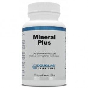 Mineral Plus Douglas, 60 comprimidos. Multimineral.