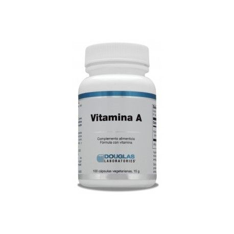 Vitamina A Douglas, 100 cápsulas