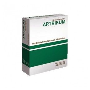 Artrikum Bioserum, 30 cápsulas. Insaponificables de soja y aguacate. Silicio coloidal. MSM.